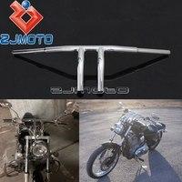 Motorcycle New Chrome 1 1/4 Handlebar T bar 8 Rise Handle Bar Custom For Harley Sportster Touring Cafe Racer Bobber Chopper