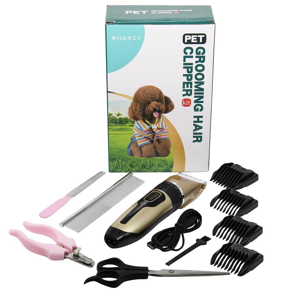 Weixiao Pet Shaving Barber Cat And Dog Pet Supplies Ricaricabile Pet Shaving C6 Set di Forbici in plastica C6 a 4 Pezzi