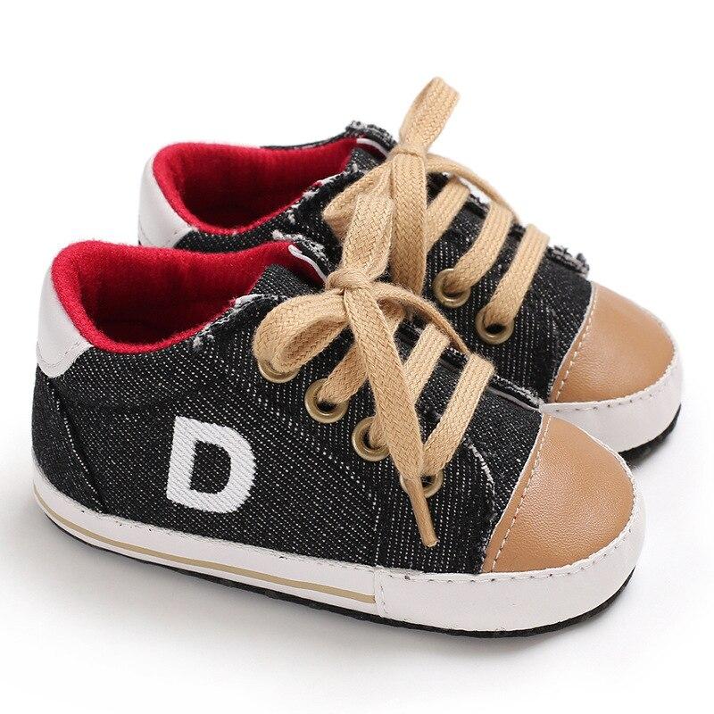 Sapatos quatro estações para bebês, tênis masculino