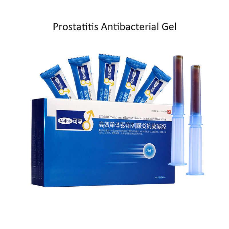 Cofoe 前立腺炎前立腺ゲル/Prosta-ゲル/抗菌ゲル 5 ピース/ロット慢性前立腺炎アンドロロジーため頻尿男