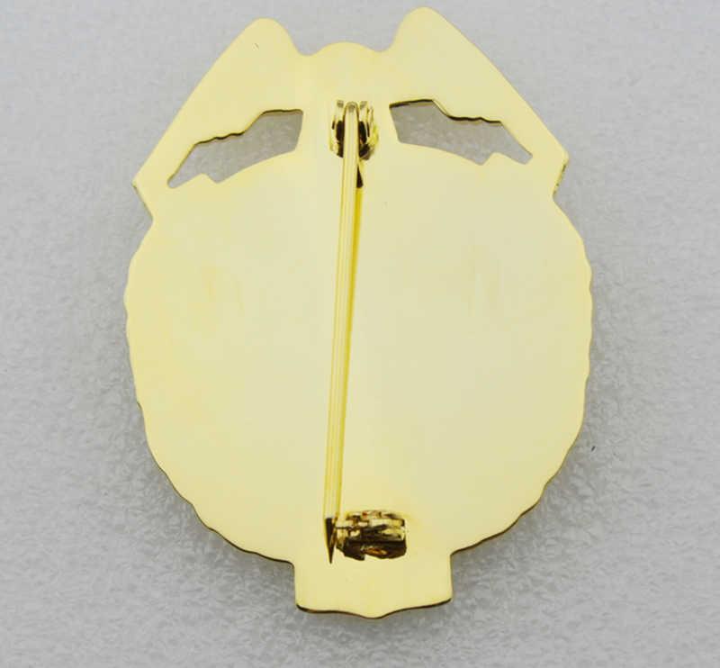 Classic USA AGENTE SPECIALE DIPARTIMENTO della DIFESA No. 212-TV/Film Prop pin Posteriore con Supporto di Clip da Cintura In Pelle e Catena Al Collo