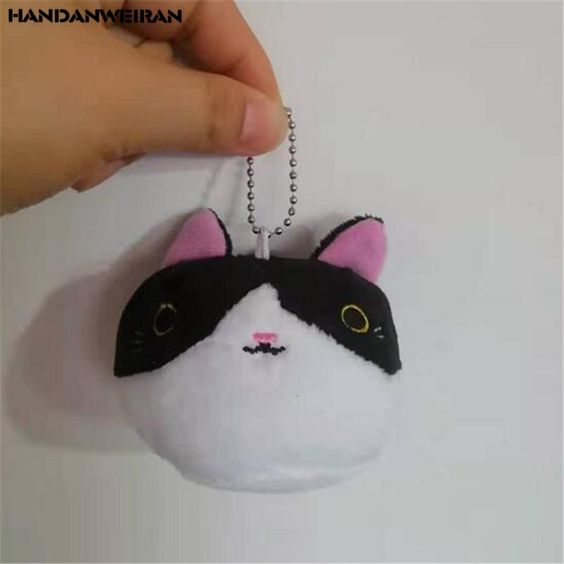 1PCS Mini Plush Fist Cat Toys Doll Multi-Colors Choose Creative Cute Soft Stuffed Cats Toy Small Pendant Children Kids Gifts 7CM