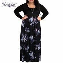 Vintage o-boyun Patchwork elbise