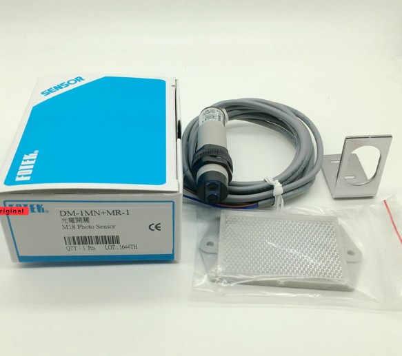 Абсолютно новый оригинальный DM-1MN круглый фотоэлектрический переключатель DM-1MN + MR-1