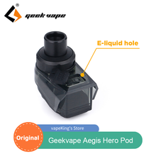 Geekvape egis Hero Pod 4ml serbatoio atomizzatore cartuccia Vape per GeekVape egis Hero Pod Mod Kit e cigs con nucleo bobina 0,4ohm 0,6ohm