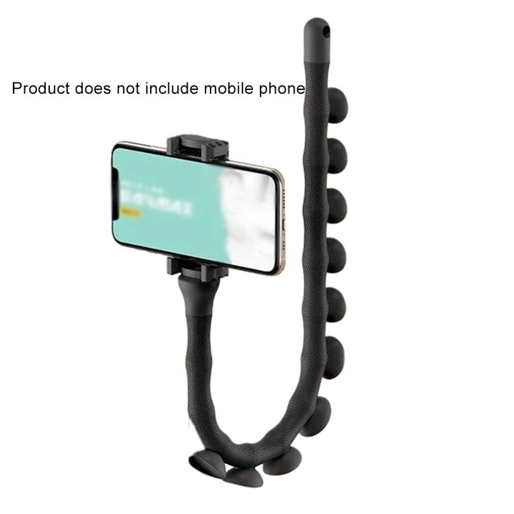 Lazy Bracket Mobile Phone Stents New Cute Caterpillar Worm Bracket Suction Cup Support Wall Desktop Pillar Holder