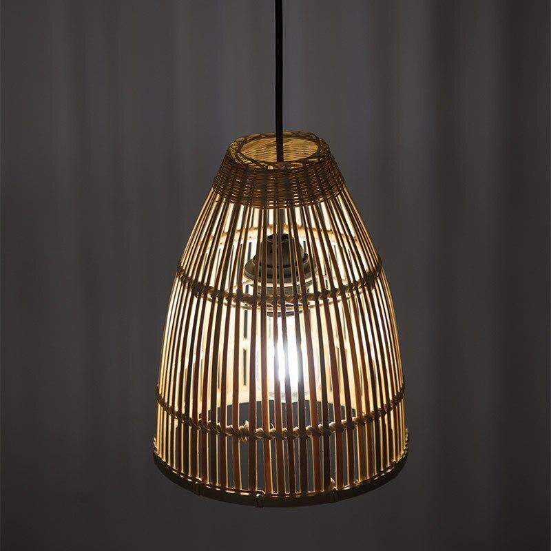 Southeast Asia Bamboo Chandelier Hand Made Creative Personalized Restaurant Bedroom Balcony Tea House Lantern