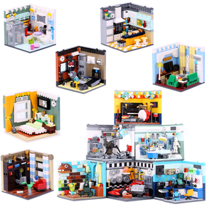 XINGBAO 1401 Genuine Building Series The Living House kitchen Doctors Set Educational building blocks Model Action Toy Kids gift(China)