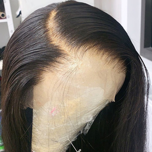 Image 4 - Lace Front Human Hair Wigs Remy Straight Hair PrePlucked Hairline Baby Hair 8 26 Inch 13x4 150% Real Human Hair Lace Front Wig L