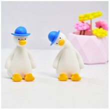 Super Cute Cartoon Duck Goose Resin Mold Jewelry Making Tools Chocolate Gum Paste Sugar Molds DIY Art Crafts