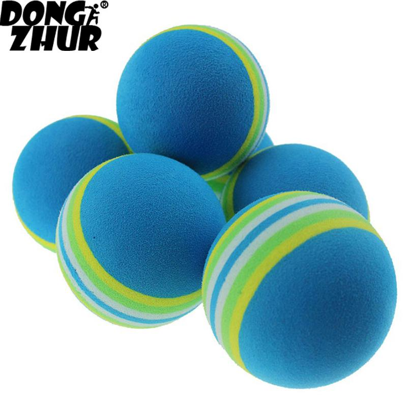 New Golf Sponge Soft Rainbow Balls Golf Swing Training Sponge Foam Golf Ball Balls Tennis Golfer/ Sponge X5I6
