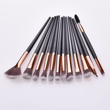 Makeup Brushes Set 3/5/12pcs/lot Eye Shadow Blending Eyeliner Eyelash Eyebrow Make up Brushes Professional Eyeshadow Brush