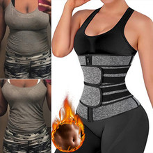 Waist Trainers for Women Plus Size Neoprene Double Waist Cincher Trimmer Belt Tummy Control Body Shaper Sport Girdle Shapewear