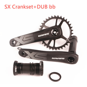2019 NEW 12 Speed SRAM SX EAGLE Bike Bicycle DUB 170mm 175mm 34T Steel Chainring MTB Crankset With DUB BSA BB 12s(China)