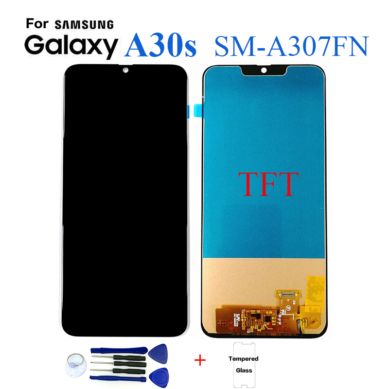 TFT For <font><b>Samsung</b></font> <font><b>A30s</b></font> A307 SM-A307FN <font><b>Display</b></font> lcd Screen replacement for <font><b>Samsung</b></font> <font><b>A30s</b></font> A307 SM-A307FN <font><b>display</b></font> lcd screen module image
