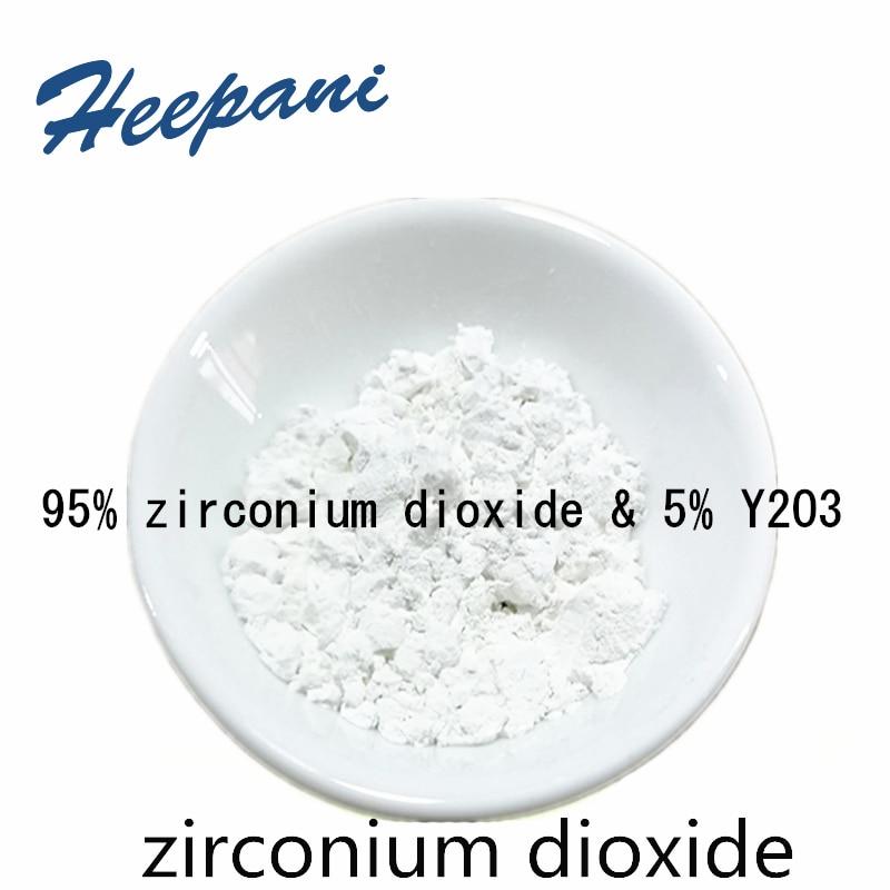 Free Shipping 95% Zirconium Dioxide & 5% Y2O3 With 50nm / 50um Yttrium Stabilized Zirconia Powder ZrO2 For Ceramic Industry