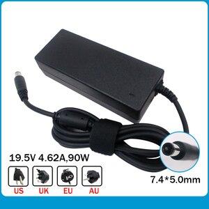 Image 1 - Oryginalne 19.5V 4.62A 7.4*5.0mm 90W Laptop ładowarka do dell Latitude 3330 00021 LA90PM111 PA 1900 32D2 Y4M8K 0Y4M8K adapter AC