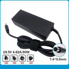 Véritable 19.5V 4.62A 7.4*5.0mm 90W chargeur pour ordinateur portable pour Dell Latitude 3330 00021 LA90PM111 PA 1900 32D2 Y4M8K 0Y4M8K Adaptateur secteur