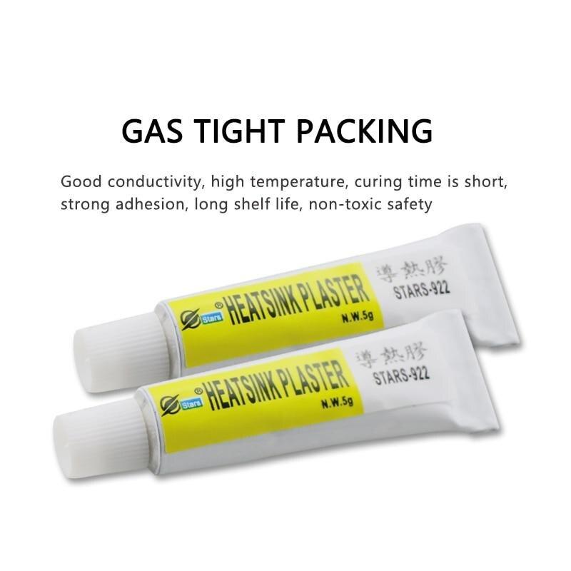 Штукатурка для радиатора Термальность клей охлаждения вставьте сильный клей-смесь для теплоотвода Термальность проводящий вязкой, Прямая ...