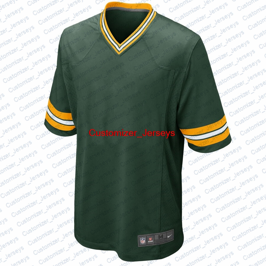 Men Aaron Rodgers Darnell Savage Jr. Davante Adams Bart Starr Jaire Alexander David Bakhtiari Donald Driver Green Bay Jersey