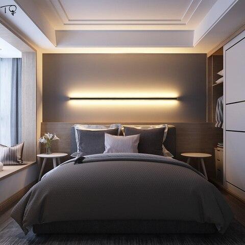 moderno minimalista simples lampada parede