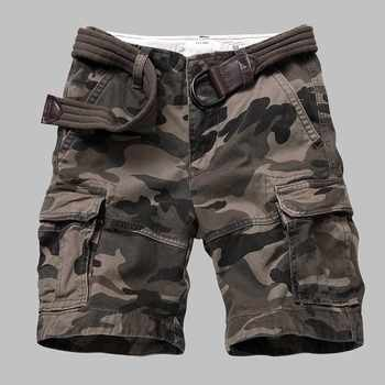 Premium Quality Camouflage Cargo Shorts Men Casual Military Army Style Beach Shorts Loose Baggy Pocket Shorts Male Clothes - DISCOUNT ITEM  37% OFF All Category