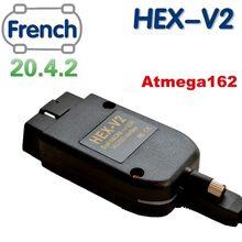 2020 mais novo vagcom 20.4.2 hex v2 relação vag com 20.4 para vw audi skoda seat vag 19.6.2 inglês francês atmega162