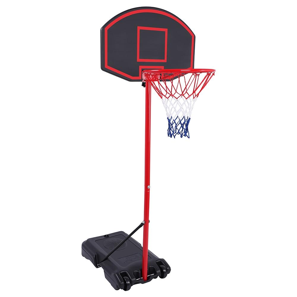 Support de basket-ball d'adolescent réglable amovible portatif support de basket-ball de haute qualité pour la plage extérieure, les communautés, les écoles