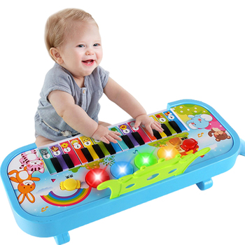 Musical Instrument Toy Baby Kids Animal Farm Piano Infants Electronic Keyboard Educational Toys For Children Gifts