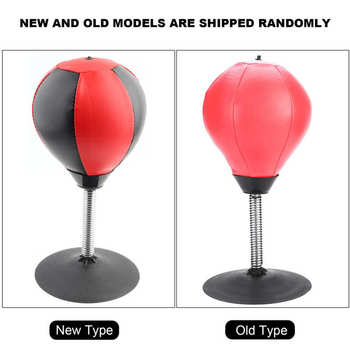 Suction Cup Boxing Vent Ball Desktop Punching Bag Mini Punch Sports Fitness Punching Bag Speed