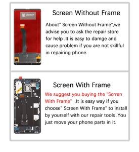 Image 5 - Xiao mi mi x 2s lcd 디스플레이 및 터치 스크린 디지타이저 프레임 어셈블리 용 5.99 인치 스크린 교체 mi mi x2s 용