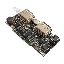 Двойной usb 5v 1a 21a мобильный модуль питания boost с дисплеем