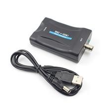 BNC to HDMI Converter Monitor Turn Display HD 1080P/720P Lossless Conversion