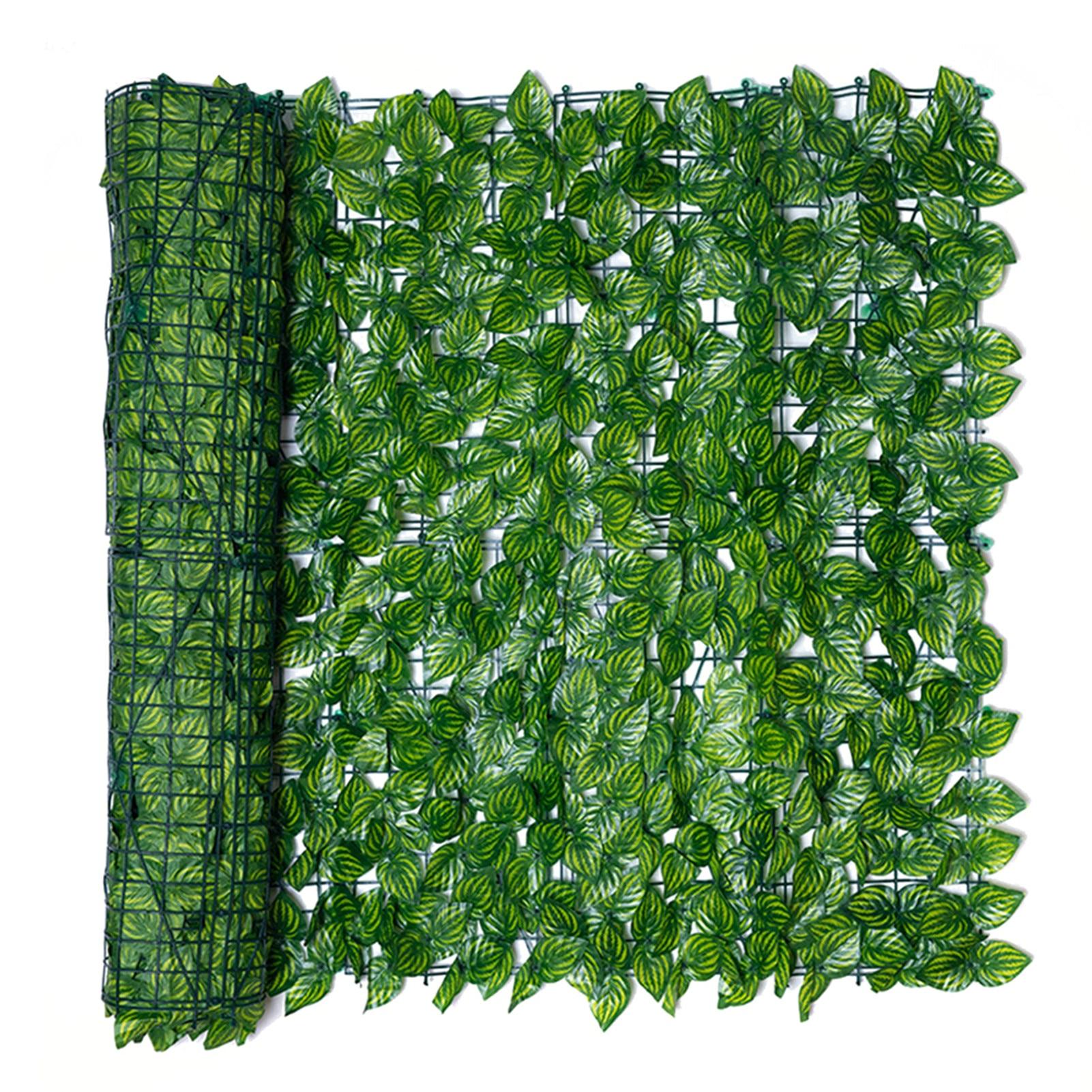 1m x 3m Искусственный лист ограда из растений ландшафтный дизайн забор для дома и сада на заднем дворе балкон с УФ-защитой конфиденциальности ...