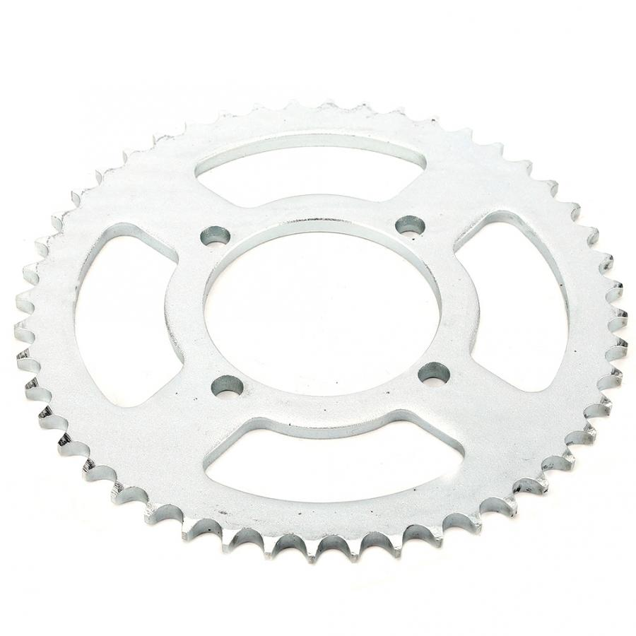 <font><b>48T</b></font> Teeth 76mm 428 Chain Aluminum Rear <font><b>Sprocket</b></font> Cog Fit for 250cc Pit Trail Dirt Bike Motorcros Motorcycle Drive Belt image