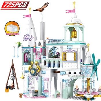 4in1 Friends Series POP Star House Designer Princess Construction Set Model Building Blocks Toys For Girls DIY Christmas Gifts сумерки рассвет