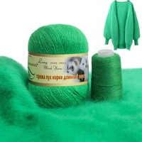 Hilo de Cachemira suave de 50g + 20g Plush Mink, mezcla de lana Merino para ganchillo, cárdigan, sombrero, bufanda, accesorios de fantasía