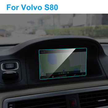 7 Inch Car GPS Navigation Screen Protector for Volvo S80 Interior Tempered Glass Touch Screen Protective Film Car Accessories image