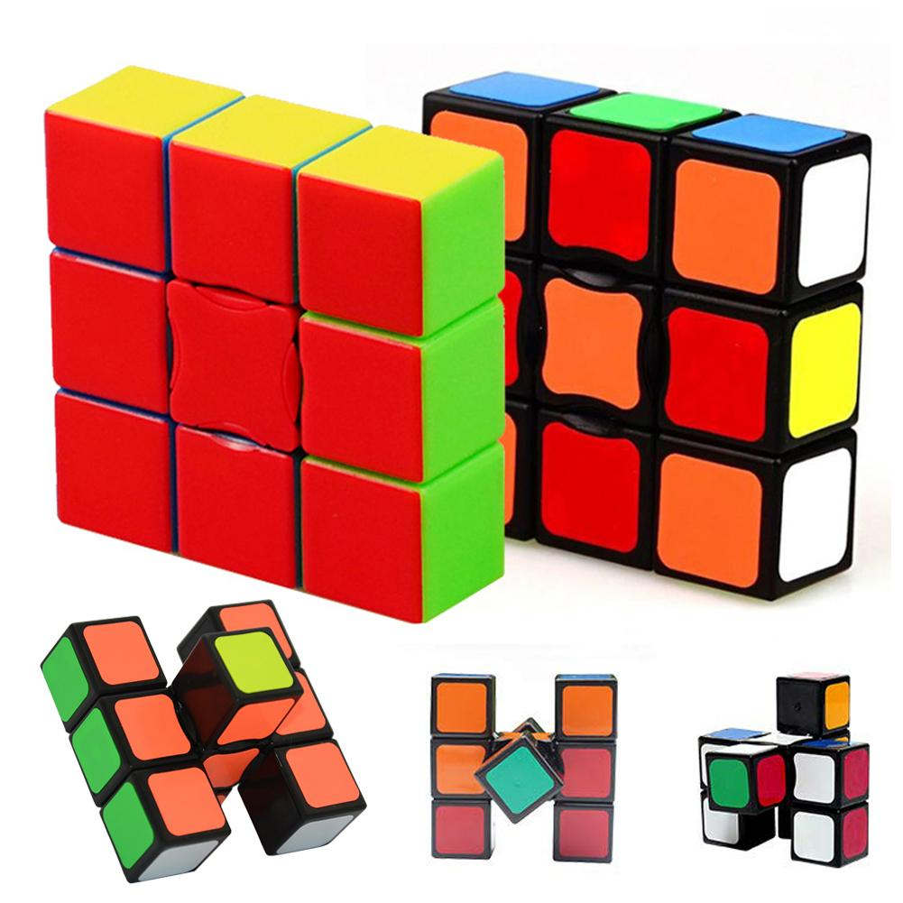 1x3x3 Magic Cube Puzzle Brain Teaser133 Super Floppy Speed Cube Puzzle 2019 Hot Sale Magic Square Anti Stress Toys Magico Cubo