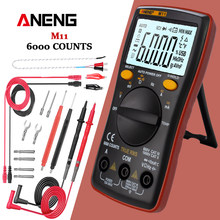 ANENG M11 DIGITAL MULTIMETER 6000 นับ Profissional ทรานซิสเตอร์ Tester Multimetro Multitester Analogico LCR Rm101/zt102(China)
