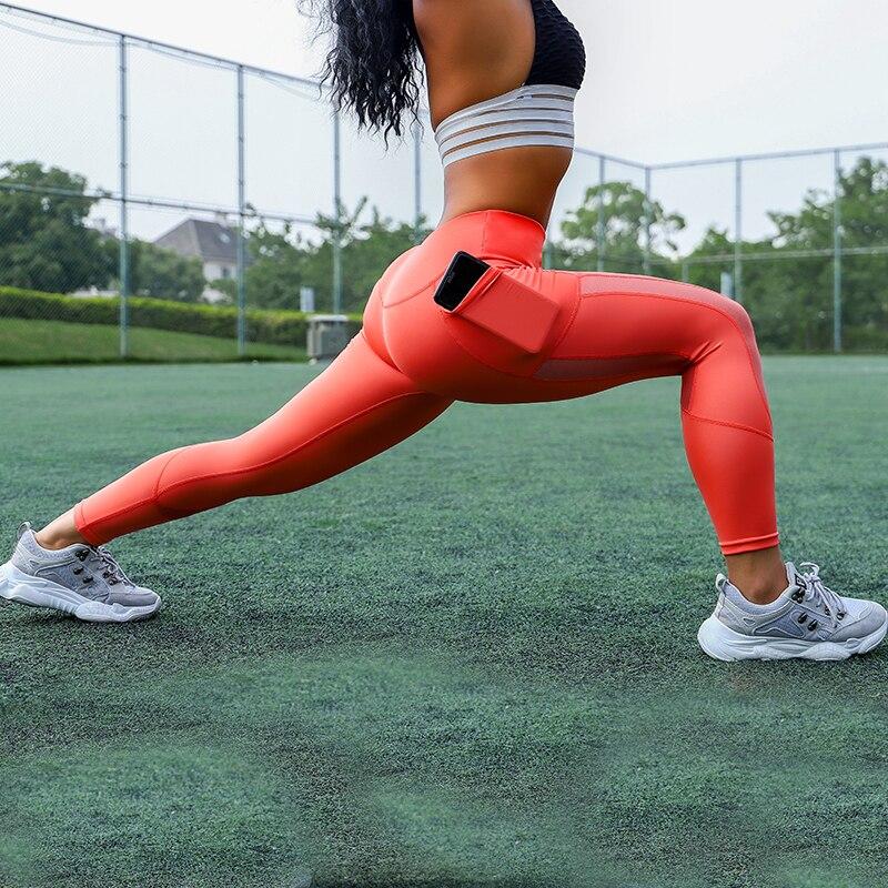 Sexy Workout Leggings With Pockets Women Leggins Plus Size Push Up Pants Fitness Legging Anti Cellulite Leggings Activewear