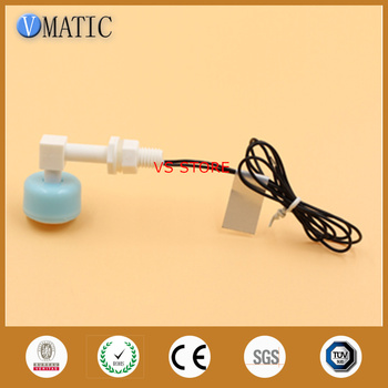 Free Shipping Plastic PP Material Side Water Sensor VCL1026-P Float Switch Floating Sphere Pump Switch