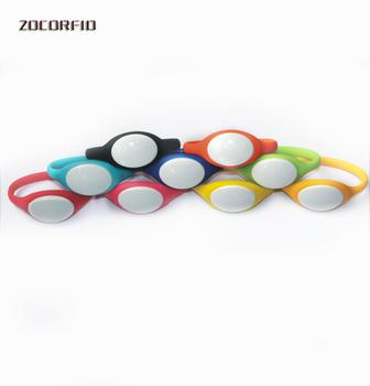 125Khz T5577/EM4305 Rewritable RFID Bracelet Silicone Wristband Watch Copy Clone Blank Card In Access Control Card image