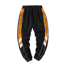 PYROTECHNIC&CO Trousers Men's New Spring and Autumn 2019 Overalls Fashion Leisure Sports Pants DS466#(China)