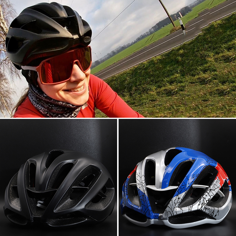 Cycling Helmet Women Men Bicycle Helmet MTB Bike Mountain Road Cycling Safety Outdoor Sports red Helmet