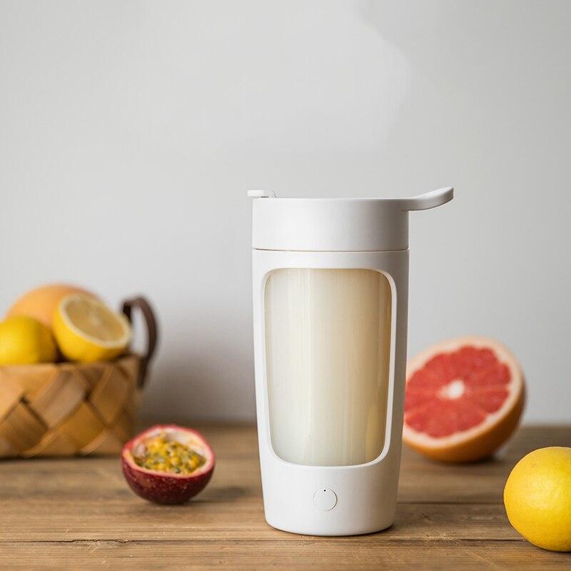 650Ml USB Charging Mixing Cup Fruit Soaking Machine Sports Lemon Kettle Juice Shake Cup Home Travel Camping Portable Drinking Wa