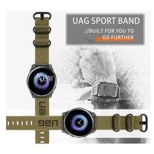 22 23 24mm náilon pulseiras de relógio para galaxy watch 46mm cinta esportiva samsung engrenagem s3 fronteira/clássico para relógio 3 45mm gt2 46mm 2 pro