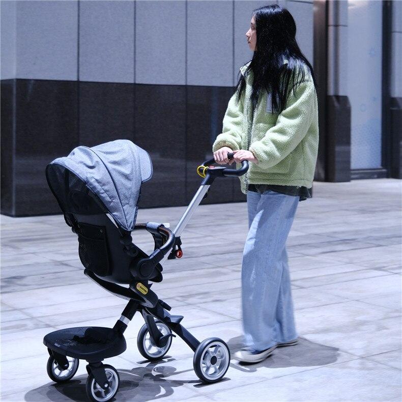 bebê em dois sentidos carrinho de bebê