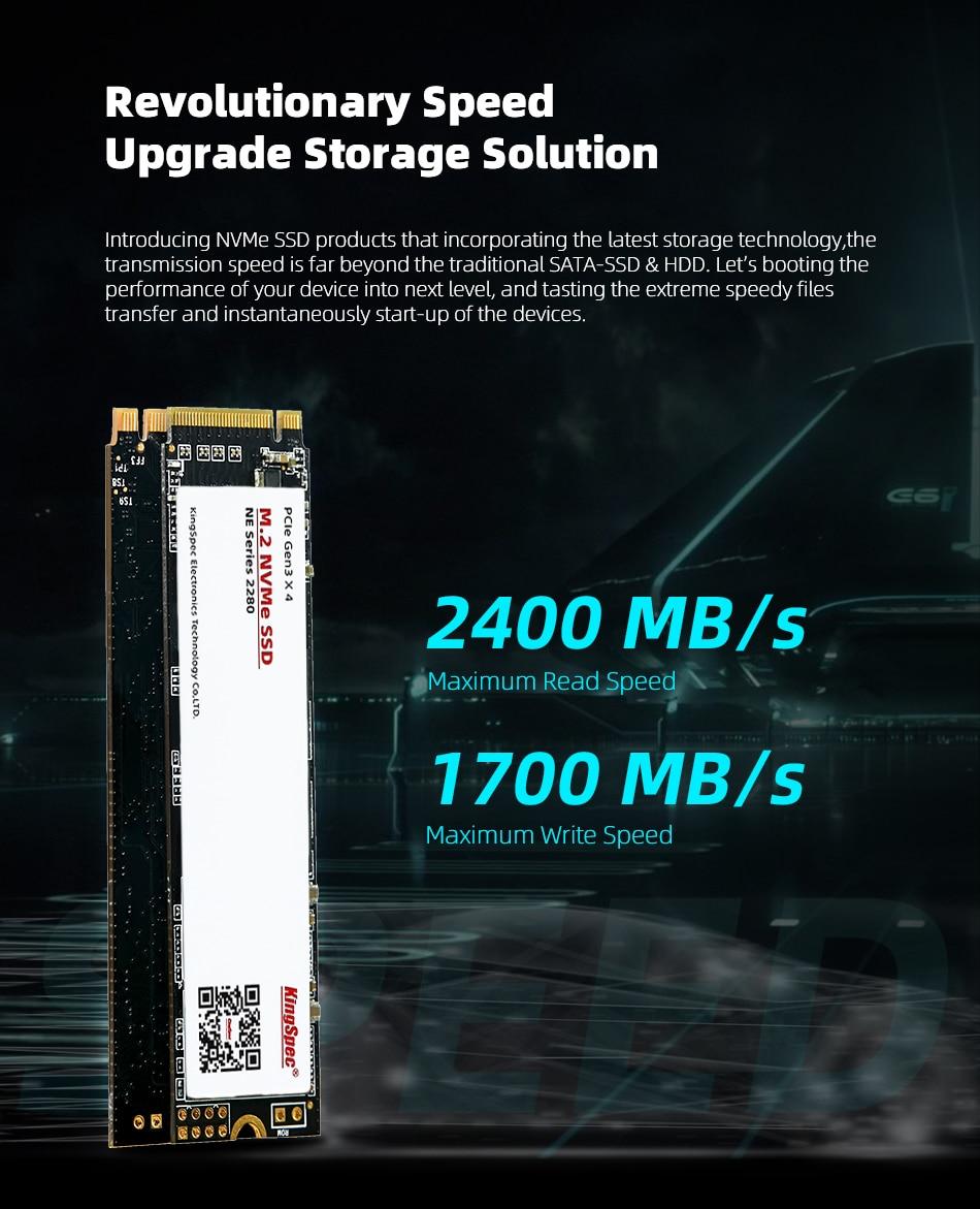 KingSpec m2 ssd PCIe 2TB M.2 ssd 240GB SSD 2280mm 500GB NVMe M.2 SSD M Key 1TB hdd Internal Drive for Desktop Laptop Huanan X79