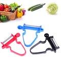 3 шт./компл. овощи фрукты Trio нож набор Slicer измельчитель лезвие для нарезки соломкой овощерезка мульти пилинг нож для чистки овощей, ножи для о...